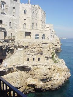 Polignano historic centre, at 20 mt on the sea