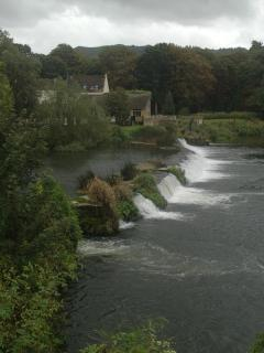 The Bathampton Mill on the River Avon has a large riverside garden and is just a short walk away.