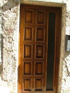 Front door to Casa Della Lavanda