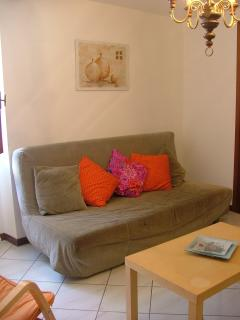 The living room, holiday accommodation near Barga