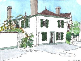 Detached townhouse with garden, Salies-de-Béarn