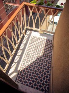 Turquoise Balcony