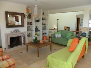 Comfortable lounge seating area