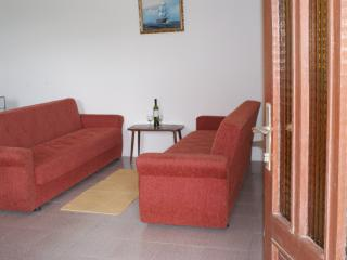 Two double sized sofa beds. An additional baby's cot can be supplied.