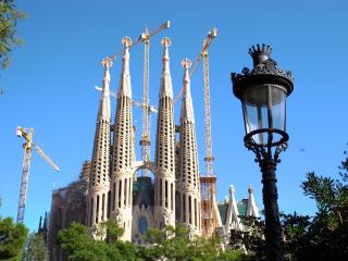Sagrada Familia welcoming, Barcellona