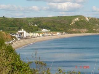 Driftwood: Spacious property with stunning sea views + Beach hut at the seafront