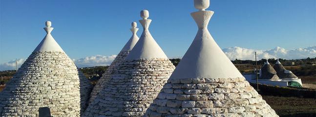Unique Trullo roof cones