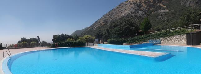 The beautiful pool at Camping el Penon, Algamitas