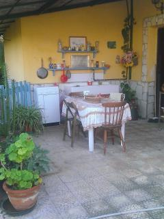 cucinino esterno