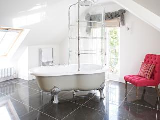 Luxury bathrooms throughout
