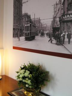 Local interest art and tasteful decor