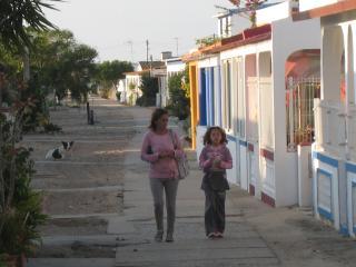 School starts. Island of Culatra.