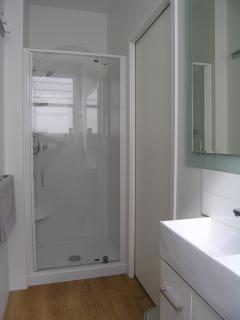 New modern bathroom facilities
