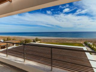 Balcony View, Lahania Beach Villa, Rhodes