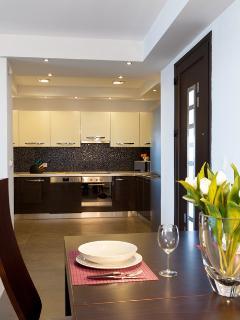 Kitchen , Lahania Beach Villa, Rhodes