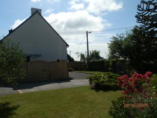 maison - terrasse - jardin