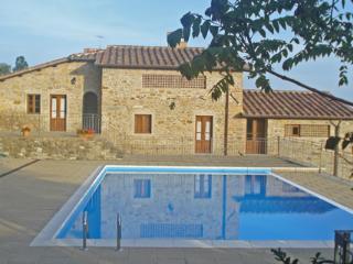 Cungi, Villa con piscina privata, Sansepolcro