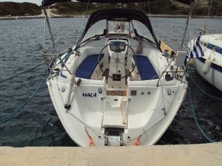In Harbour near to Kefalonia airport.