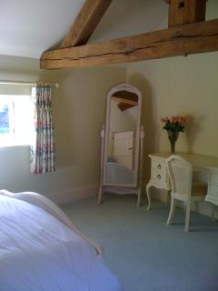 The Yellow Room with en-suite shower and toilet. Additional £100 charge.