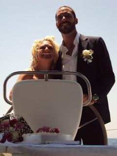 A wedding onboard Mala.