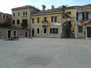 The exterior of the House seen from (square) Campo S.Alvise