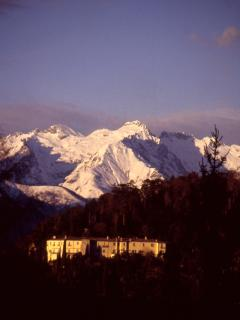 Bellagio: villa serbelloni in winter time