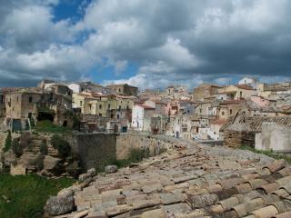 'Greek Quarter' of Irsina's centro storico