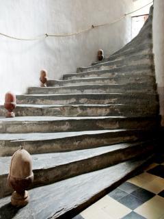 l'escalier à vis