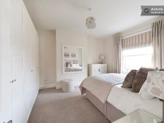 Bedroom with plenty of storage and fabulous quality fixtures and fittings