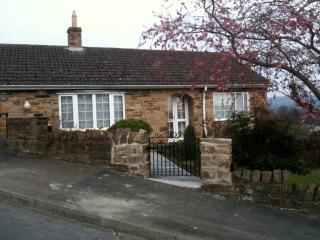 Fox Cottage from St Alkelda's Road. Like much of the Dales we are on a hill!