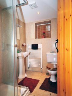 Welsh cottage with fantastic views - bathroom