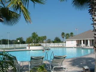 Our home has the use of a large communal pool, tennis courts, volleyball and basketball courts