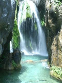 Well worth a day out at the algar waterfalls