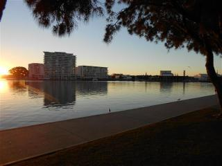Views of central mandurah - located short 200m walk along the foreshore from townhouse