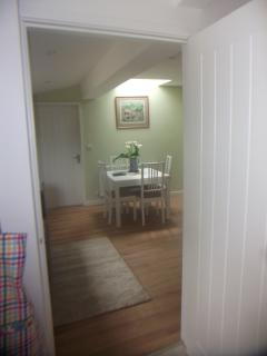 Looking into Kitchen/Sitting Room of Rectory Cottage