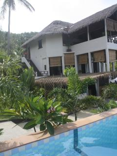 The pool and our house Suan Sawan