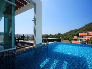 Kata Sea View Villa with Private Pool and Chef-A1