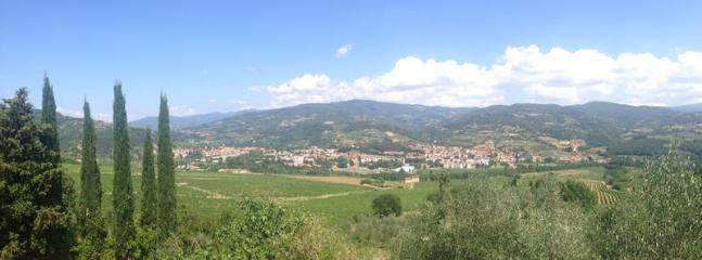View of the village of Rufina