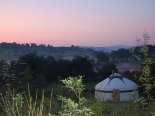 The Secret Yurts - Rowan Yurt, Dolanog