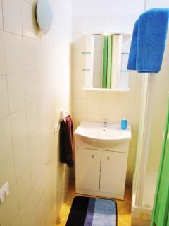 APARTMENT ALBATROS - BATHROOM WITH SHOWER