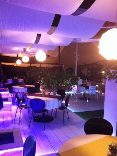 Our private restaurant & beach caffe bar