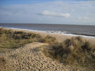 Norfolk Beachside Retreat  superb sea view Caister