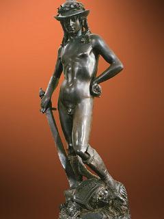 David di Donatello che potete trovare al museo del Bargello a Firenze