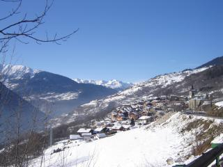 Montagny in Winter from Road