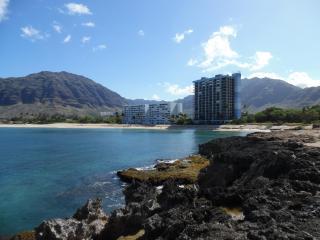 Makaha Beach Cabanas Penthouse Oceanfront Getaway