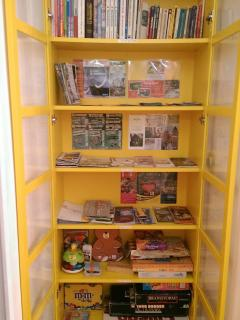 Games, local information and seesights, book exchange
