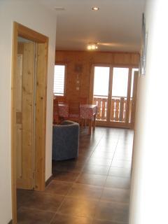 hallway looking towards livingroom