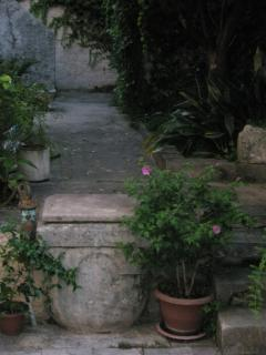 The part of the terrace