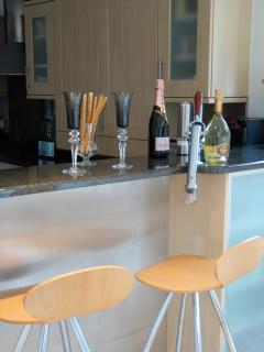 Kitchen. Bar