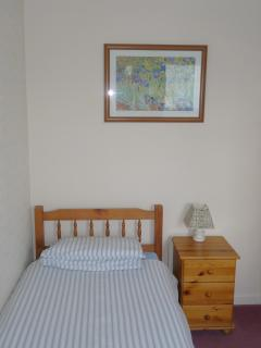 Bedroom 2 - usually set up with bunk beds but can also be used as a single